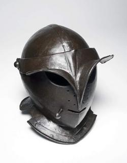 An image of Close helmet