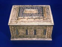 An image of Rosette casket