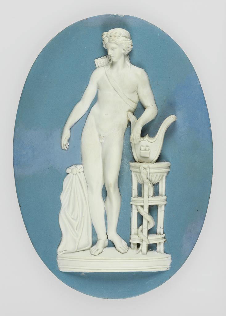 Plaque of Apollo Musagetes