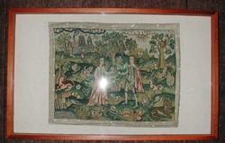 An image of Embroidered picture