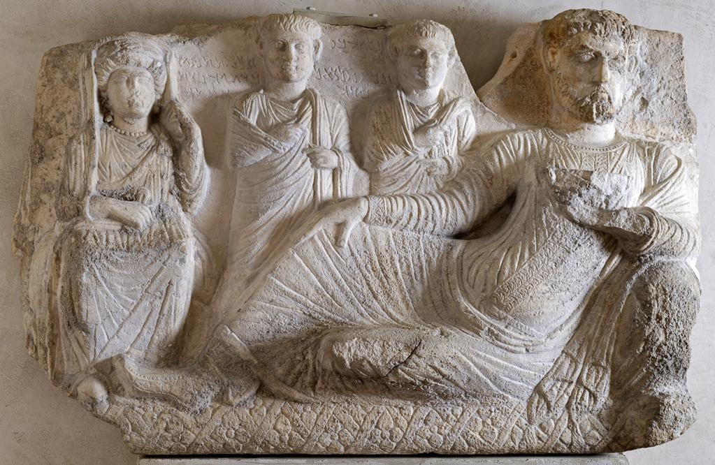 An image of Grave relief