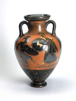An image of Panathenaic amphora