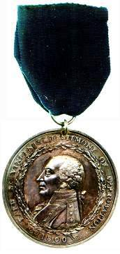 An image of Earl St Vincent's Medal