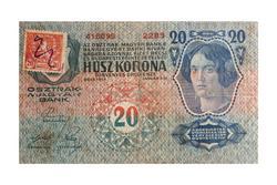 An image of 20 korun
