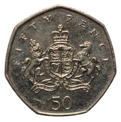 An image of 50 pence