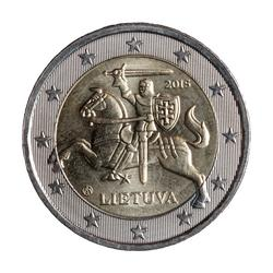 An image of 2 euro