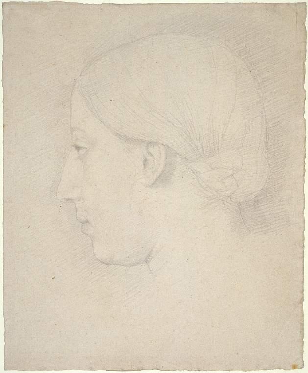 Portrait of Thérèse Degas