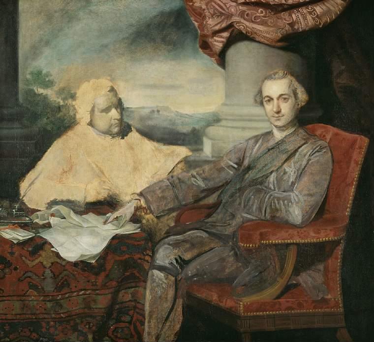 Lord Rockingham and Edmund Burke