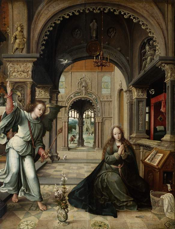 The Annunciation: 98