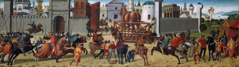 The Siege of Troy - The Wooden Horse