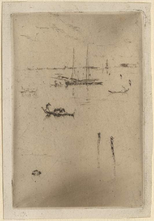 'The Little Lagoon' after Whistler