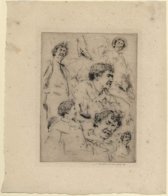 Studies of James McNeill Whistler
