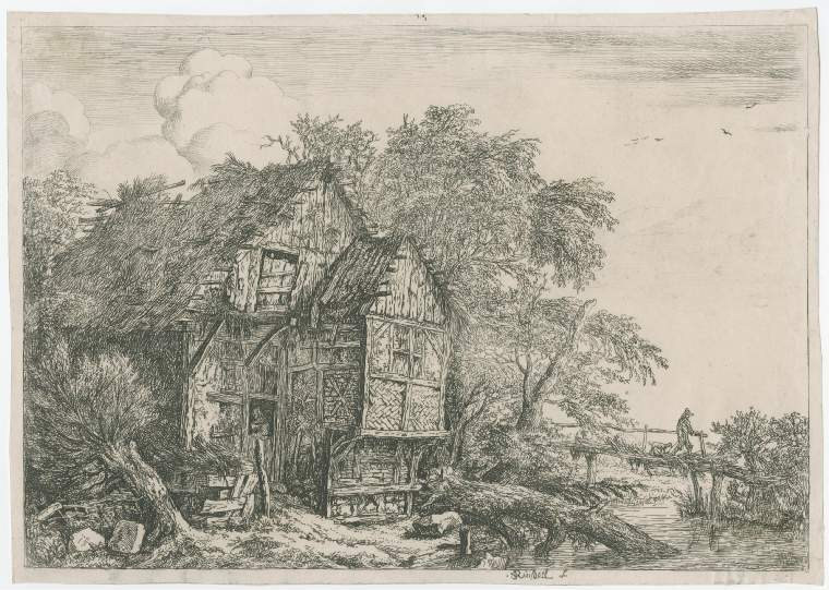 The Fitzwilliam Museum - The cottage on the hill: 31.K.12-121