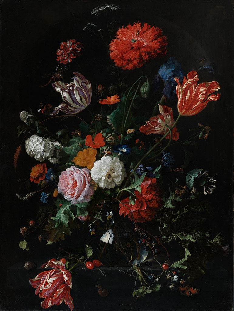 de Heem's flowers