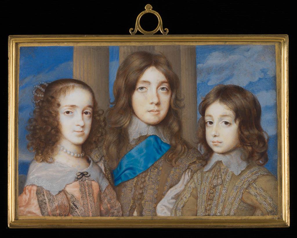 Three of the Children of Charles I