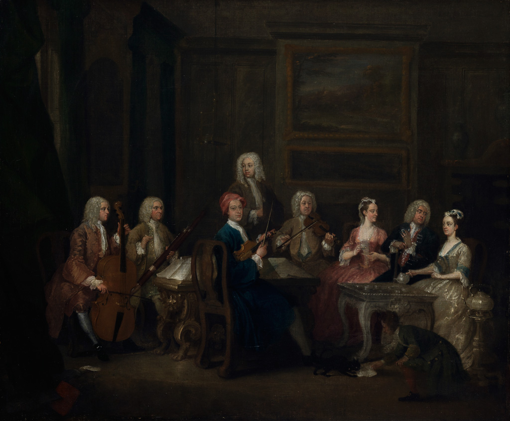 A Musical Party, The Mathias family
