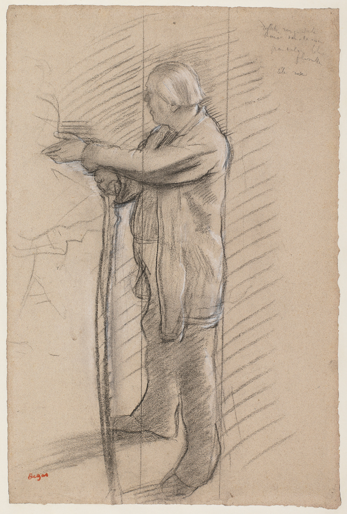 Portrait of the dancer Jules Perrot