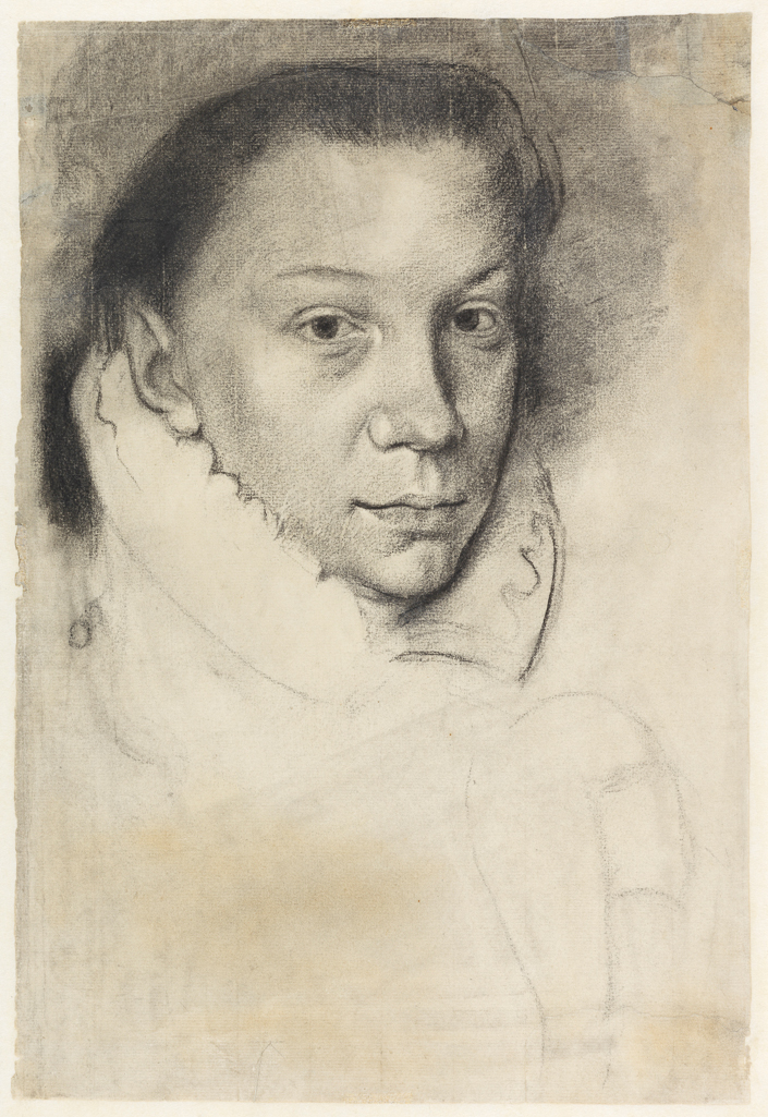 Portrait of Elisabeth de Valois, after Antonis Mor