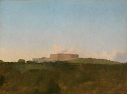 View of the Fortress Sant'Elmo, from Capodimonte, c.1856