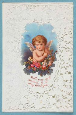 An image of Valentine card
