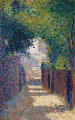 The Rue St Vincent, Paris, in spring, c. 1884