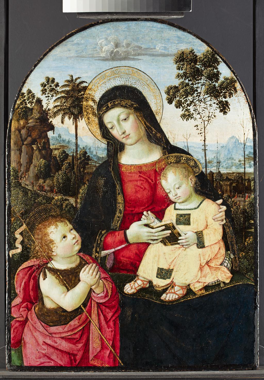 Pinturicchio, Madonna and Child
