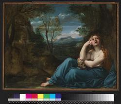 Mary Magdalene in a landscape preview image