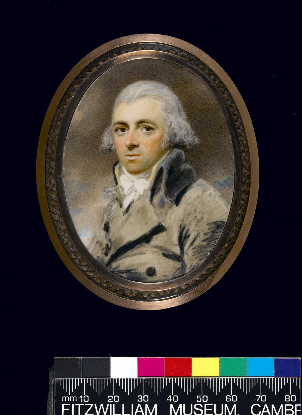 An image of Edridge, Henry. George Henry Arnold 1753-1806. Watercolour on ivory. 1793.