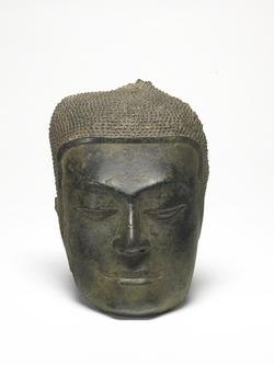 An image of Fragment of a Buddhist Head