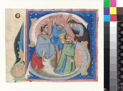An image of Historiated initial
