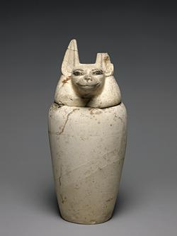 An image of Canopic jar